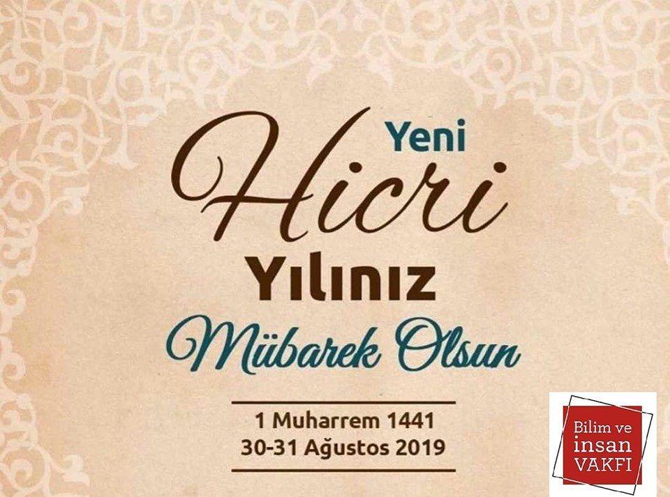 Hicri Yeni Yılımız Mübarek Olsun...